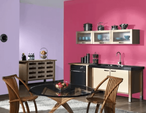 Colorful small kitchen designs layouts #smallkitchenremodel #smallkitchenideas