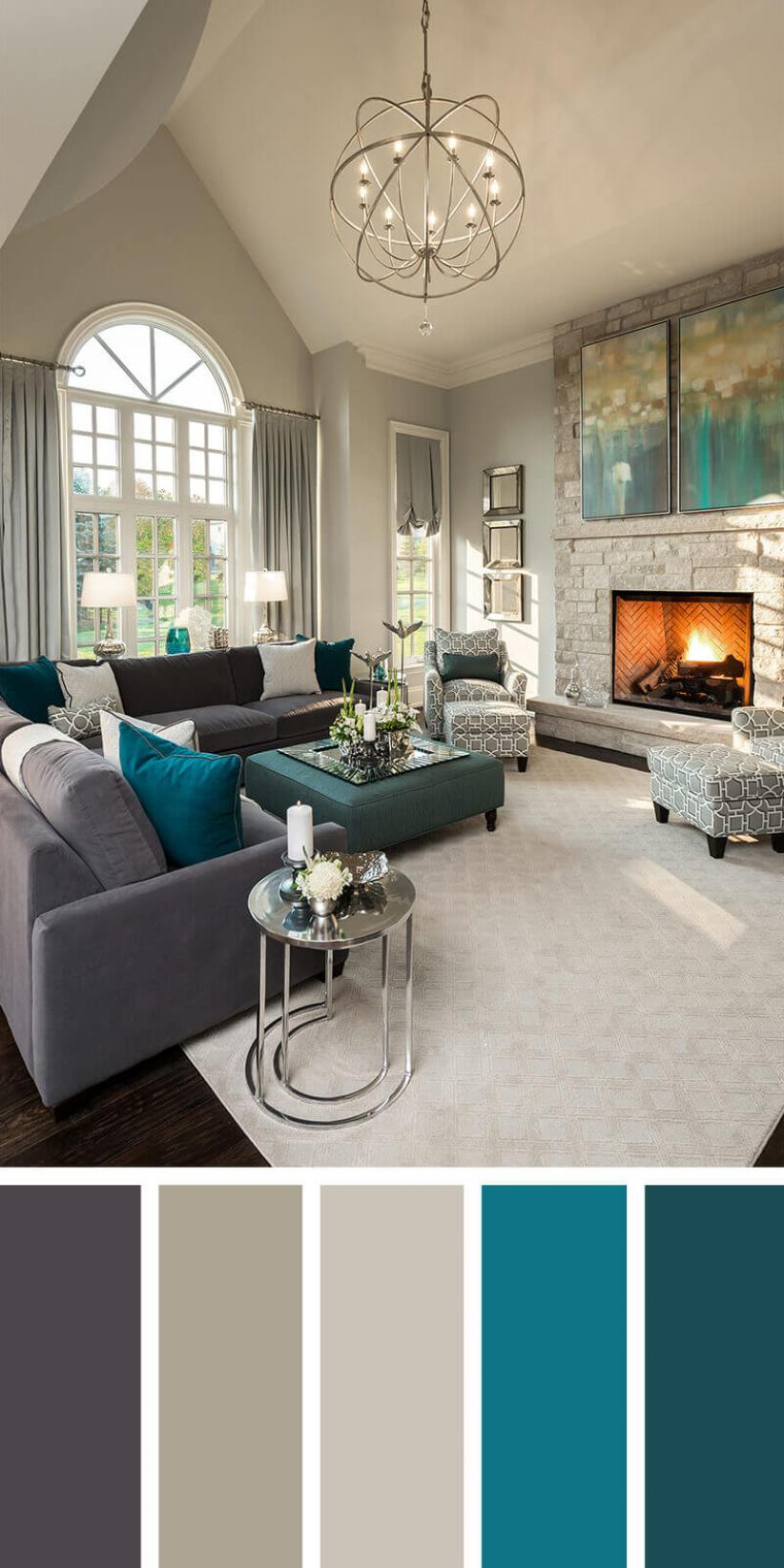 Best living room color schemes grey #livingroomcolorschemes #livingroomcolorcombination