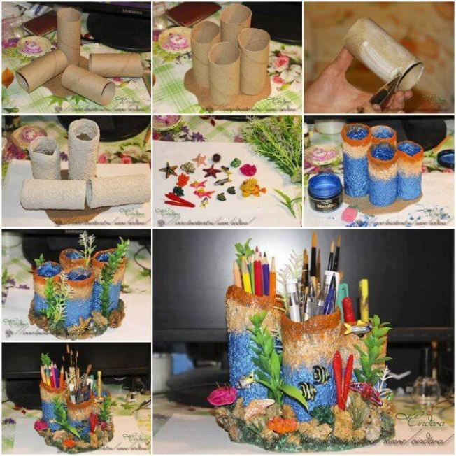 Amazing diy ideas with toilet rolls #toiletpaperrollcrafts #diytoiletpaperroll #toiletpaper