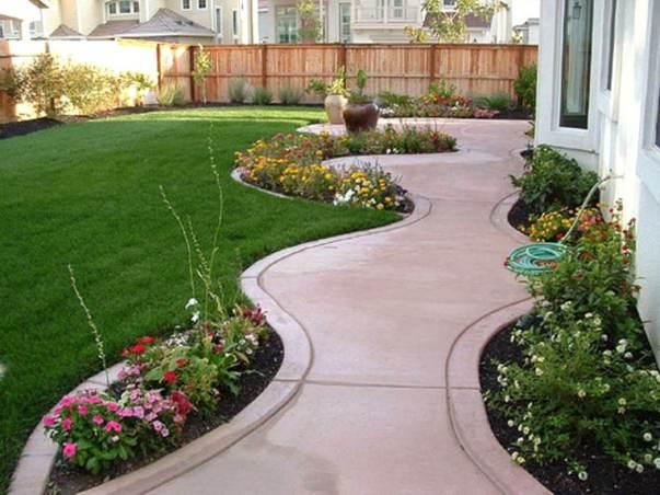 Popular backyard drainage landscape design #backyardlandscapedesign #backyardlandscapingidea #backyardlandscapedesignideas