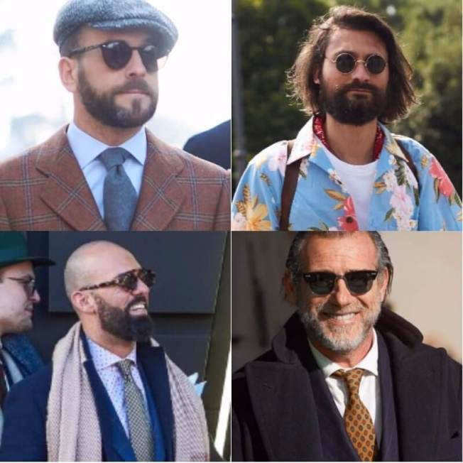 Terrific haircut with beard #beardstyles #beardstylemen #haircut #menstyle