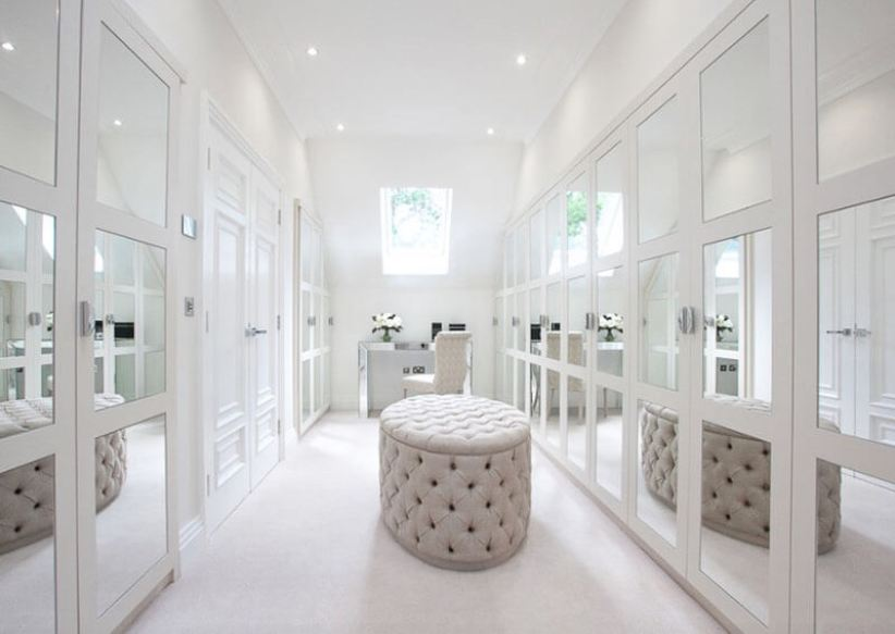Unforgettable closet office #walkinclosetdesign #closetorganization #bedroomcloset