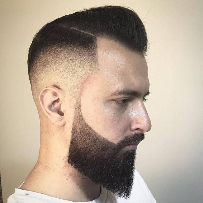 Unique beard and mustache styles #beardstyles #beardstylemen #haircut #menstyle