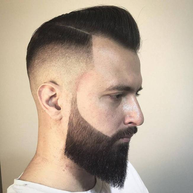 Unique beard and mustache styles #beardstyles #beardstylemen #haircut #menstyle