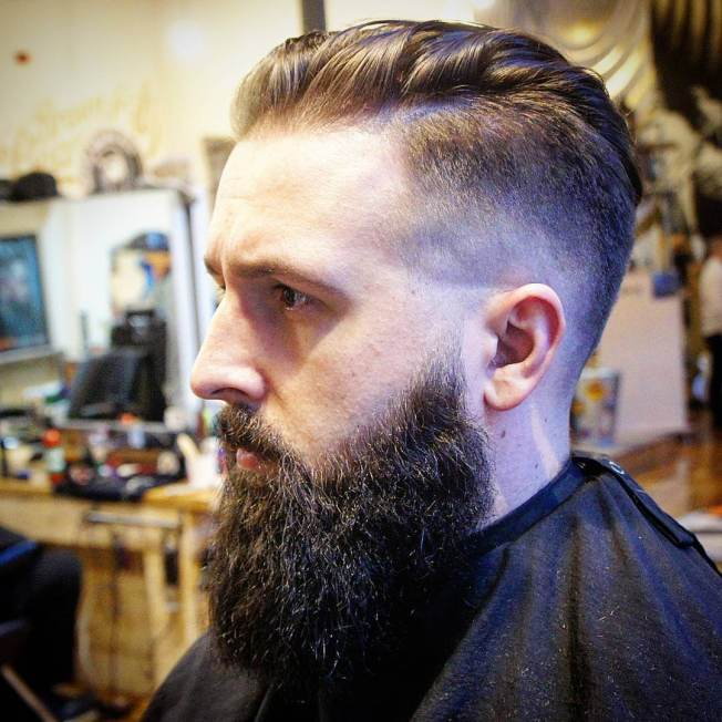 Unbeatable hair and beard styles #beardstyles #beardstylemen #haircut #menstyle