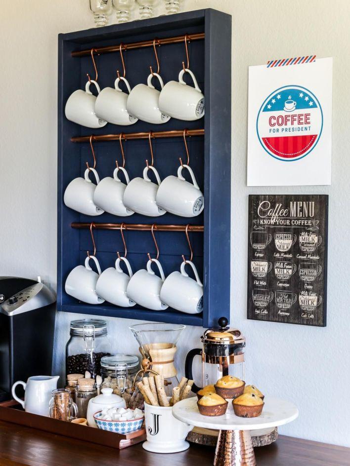 Perfect pallet ideas #coffeestationideas #homecoffeestation #coffeebar