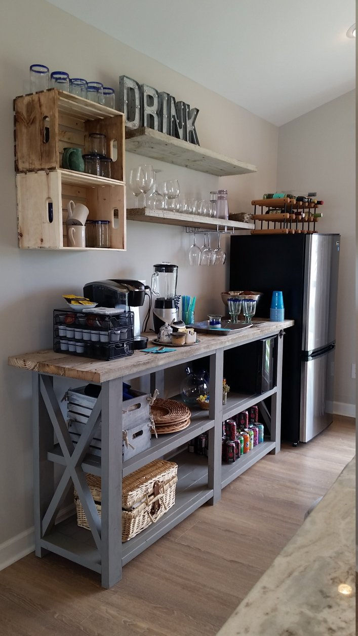 Wonderful office coffee station #coffeestationideas #homecoffeestation #coffeebar