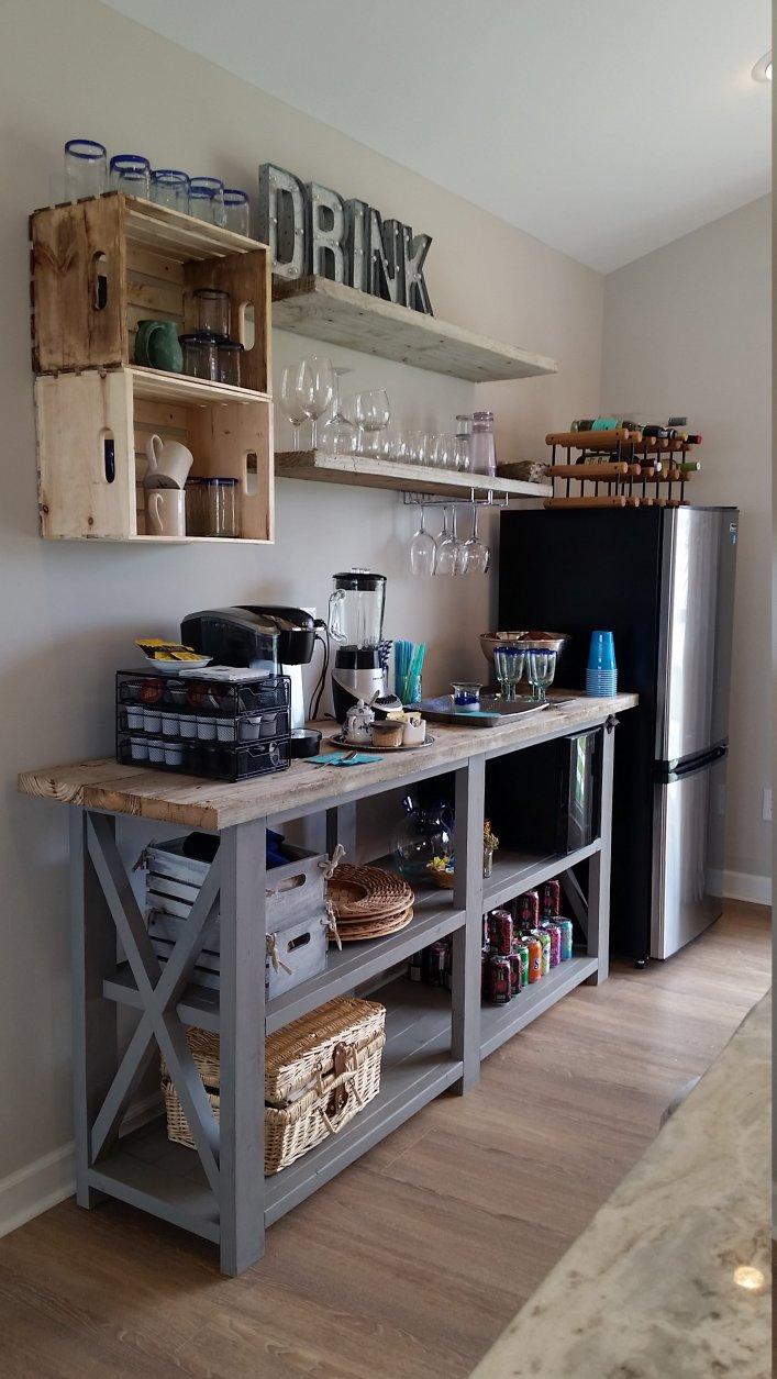 Wonderful office coffee station #coffeestationideas #homecoffeestation #coffeebar
