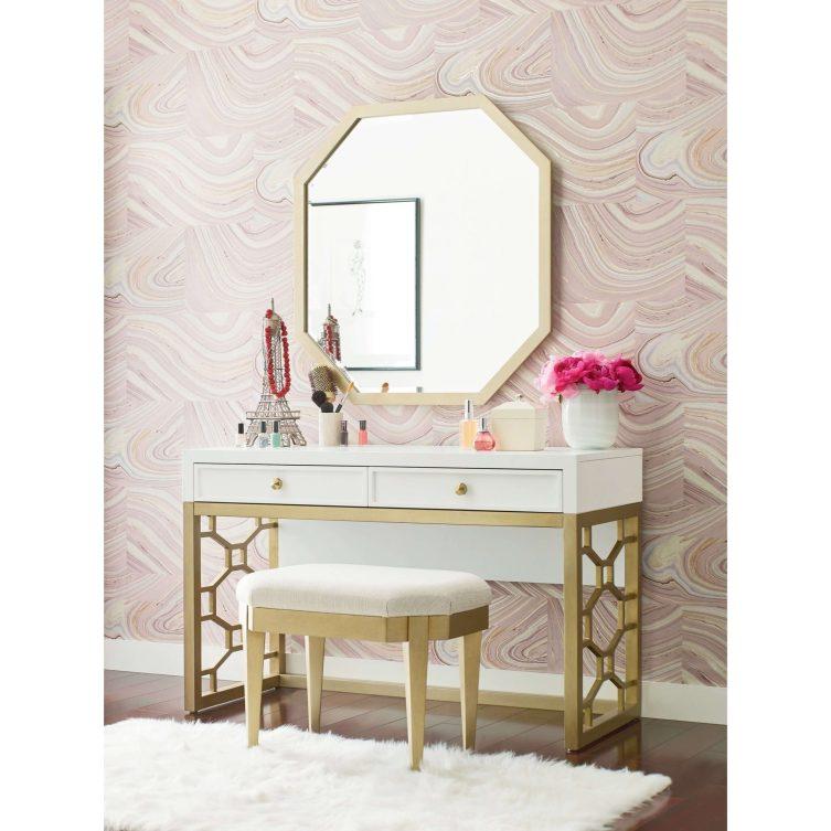 Delight pink makeup room ideas #makeuproomideas #makeupstorageideas #diymakeuporganizer