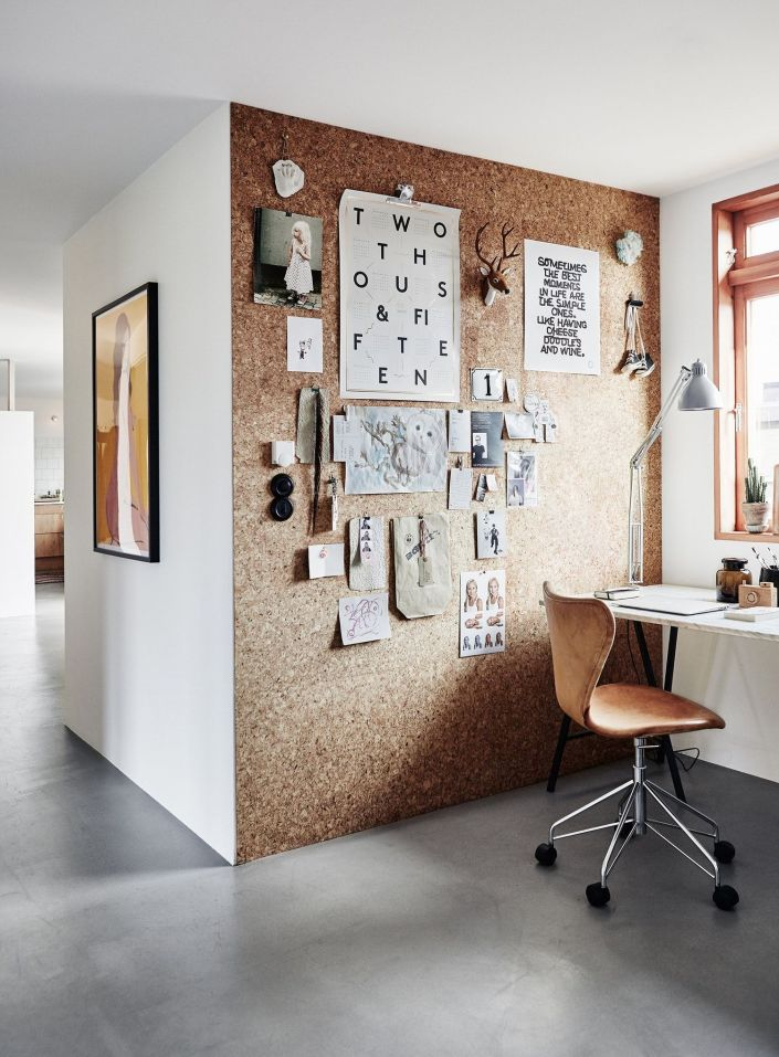 Life-changing push pin board #corkboardideas #bulletinboardideas #walldecor