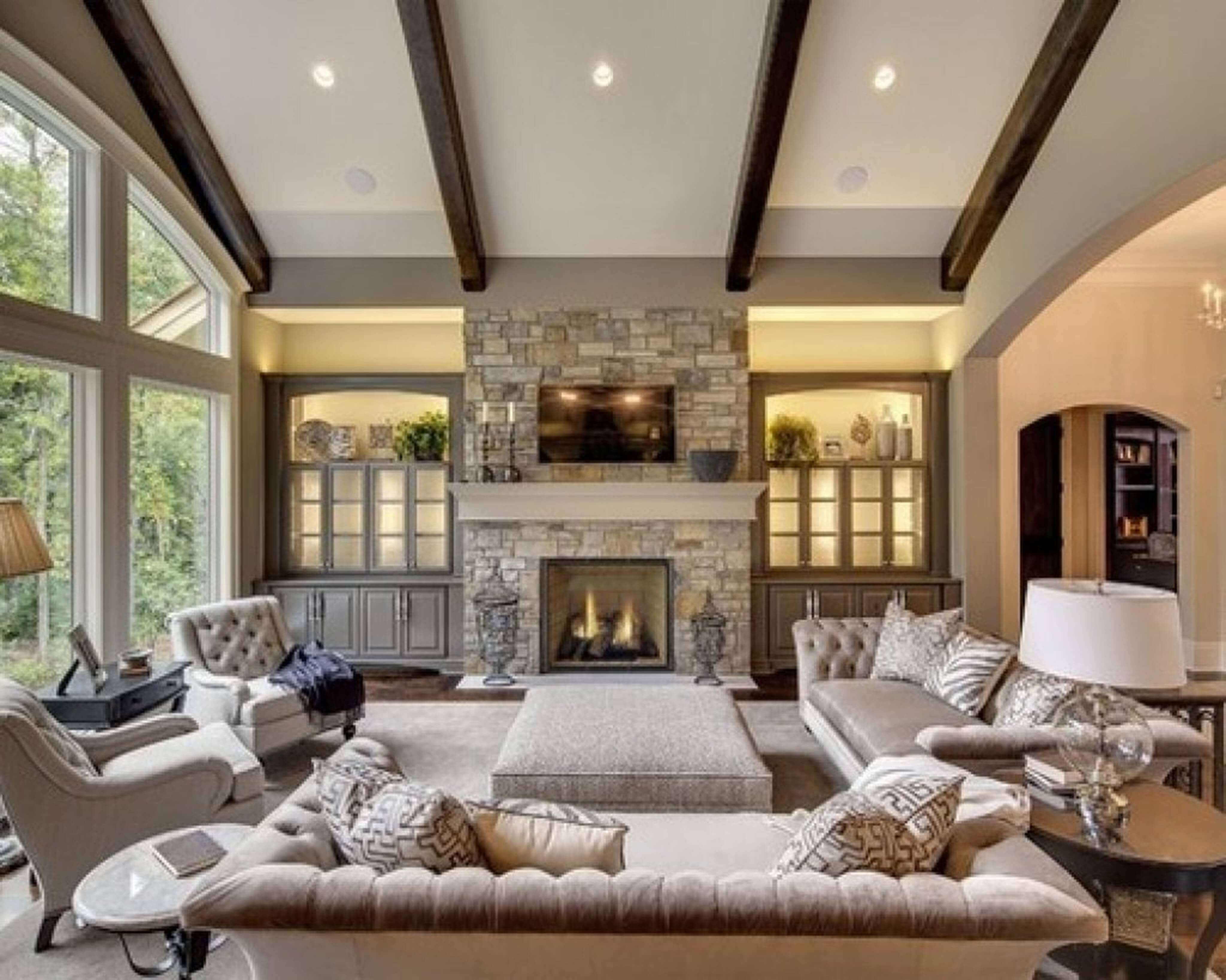 50 fantastic corner fireplace ideas make your room feel relaxed rh getbeautified com living room fireplace ideas pinterest living room fireplace decor ideas