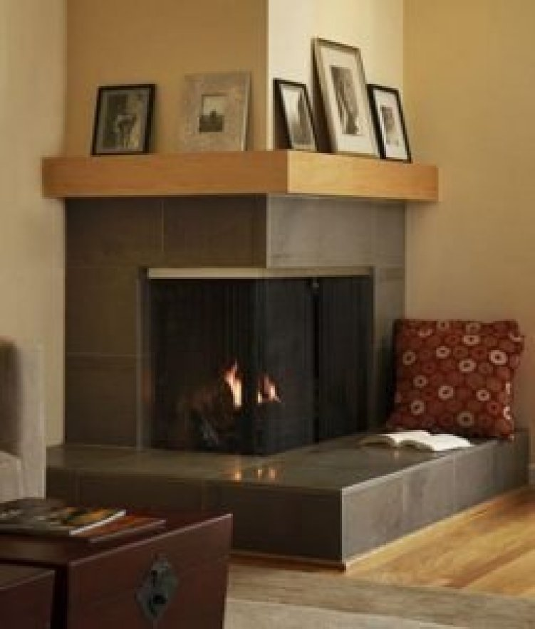 Incredible corner fireplace design ideas with tv #cornerfireplaceideas #livingroomfireplace #cornerfireplace