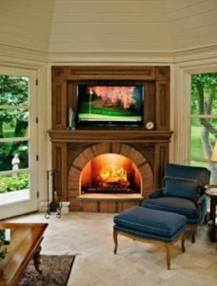 Fabulous corner stove fireplace ideas #cornerfireplaceideas #livingroomfireplace #cornerfireplace
