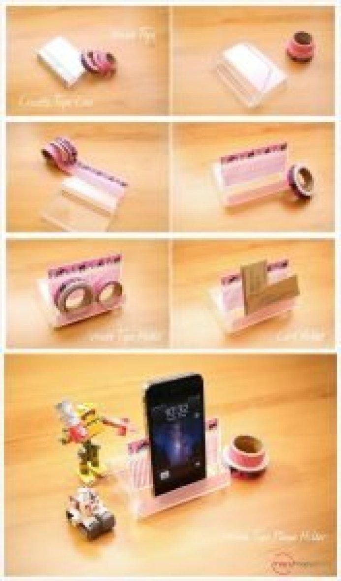 Sensational cell phone holder #diyphonestandideas #phoneholderideas #iphonestand