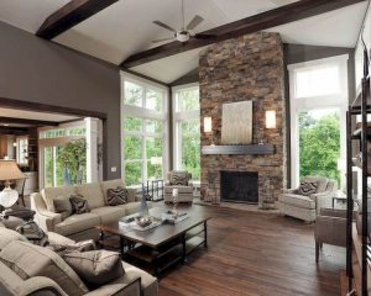 Excited corner wood fireplace ideas #cornerfireplaceideas #livingroomfireplace #cornerfireplace