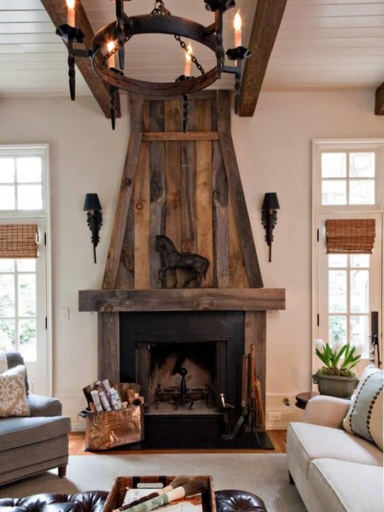 Uplifting living room with corner fireplace decorating ideas #cornerfireplaceideas #livingroomfireplace #cornerfireplace