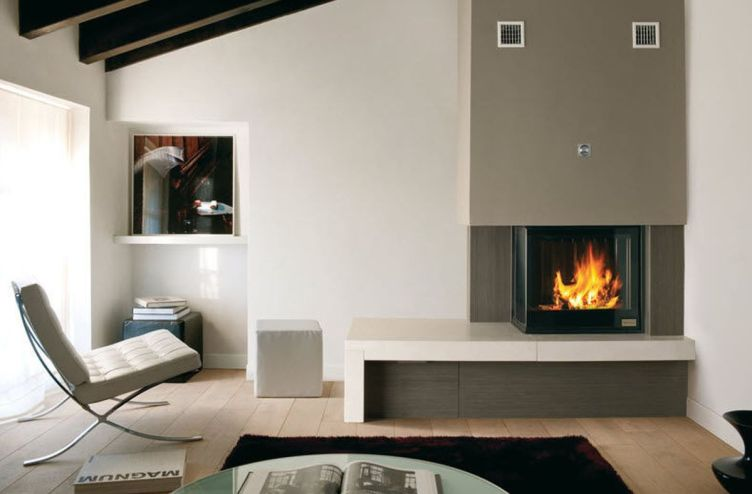 Staggering electric fireplace insert #cornerfireplaceideas #livingroomfireplace #cornerfireplace