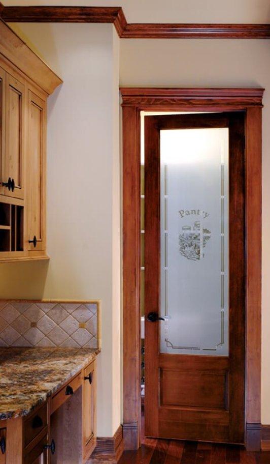 Colorful double bedroom doors #interiordoordesign #woodendoordesign