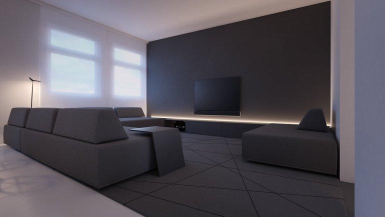 Cool minimalist interior design small apartment #minimalistinteriordesign #modernminimalisthouse #moderninteriordesign