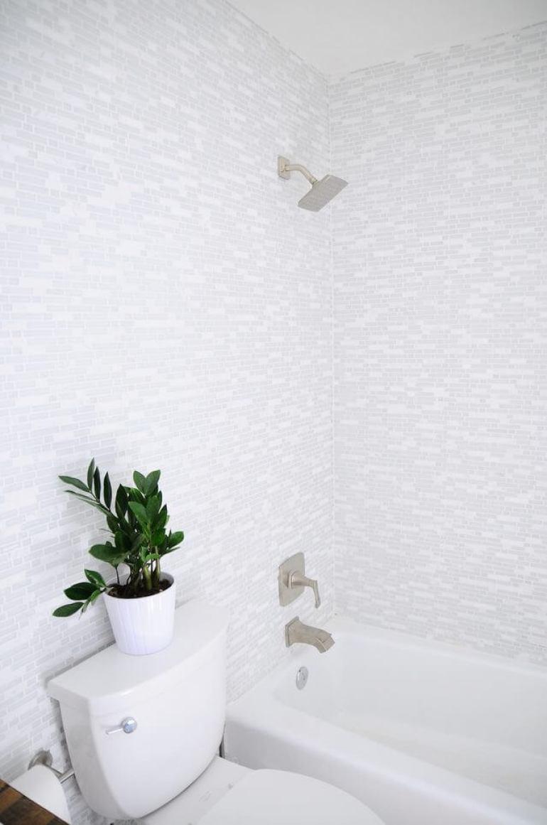 Wonderful bathroom and shower tile ideas #bathroomtileideas #bathroomtileremodel