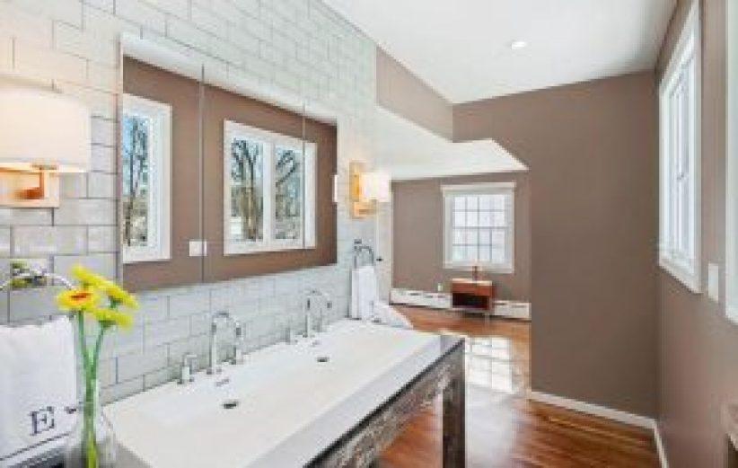 Nice bathroom floor tile ideas #bathroomtileideas #bathroomtileremodel