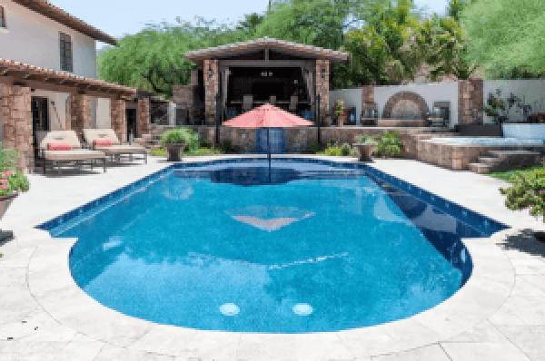 Latest swimming pool design guide #swimmingpooldesign #pooldeckandpatiodesigns #smallbackyardpools