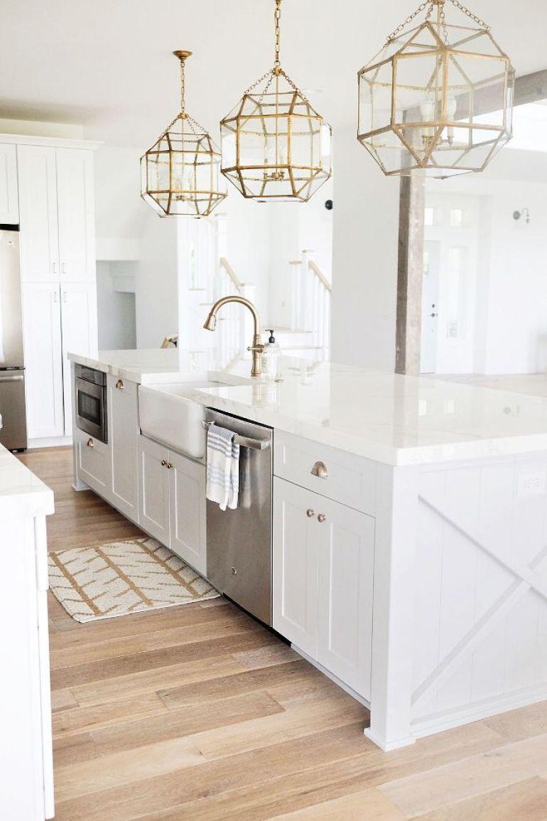 Great antique kitchen lighting ideas #kitchenlightingideas #kitchencabinetlighting
