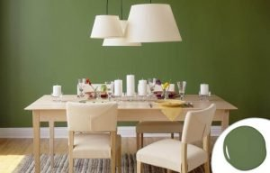 Grass Green U2013 Dining Room Paint Colors. Great Breakfast Room Furniture Ideas  #diningroompaintcolors #diningroompaintideas