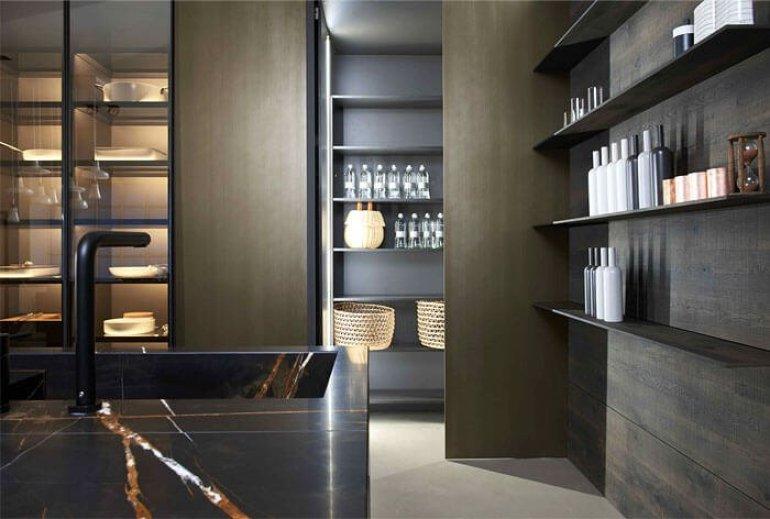 Nice model kitchen #kitcheninteriordesign #kitchendesigntrends