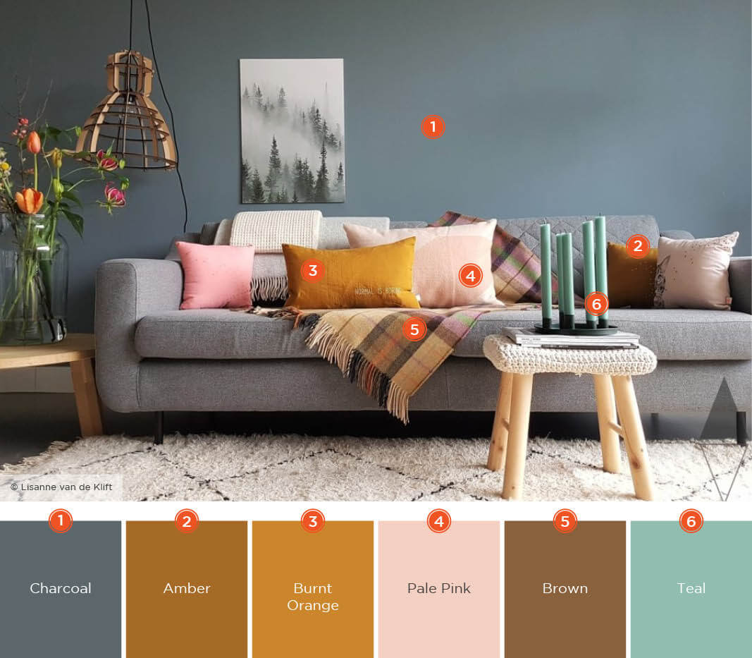 57+ Beautiful Living Room Color Schemes To Inspire Your New Space