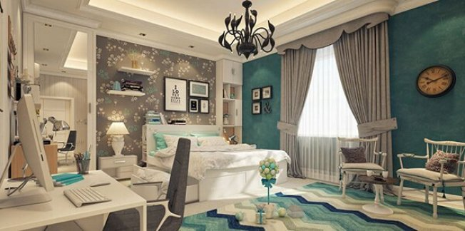 Colorful luxury bedroom ideas #cutebedroomideas #bedroomdesignideas #bedroomdecoratingideas
