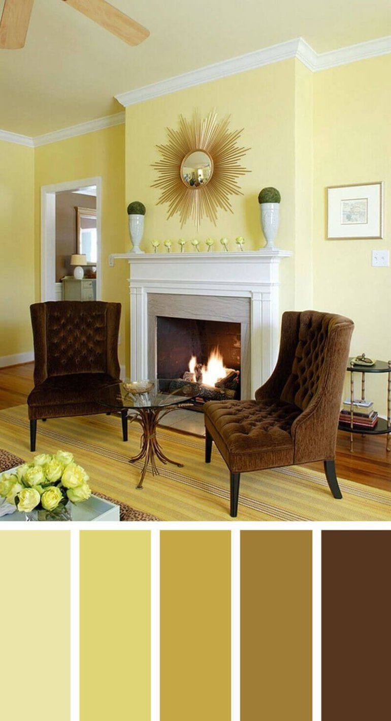 Great colour pattern for living room #livingroomcolorschemes #livingroomcolorcombination