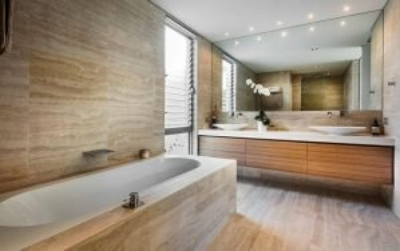Cool bathroom tile decorating ideas #bathroomtileideas #bathroomtileremodel