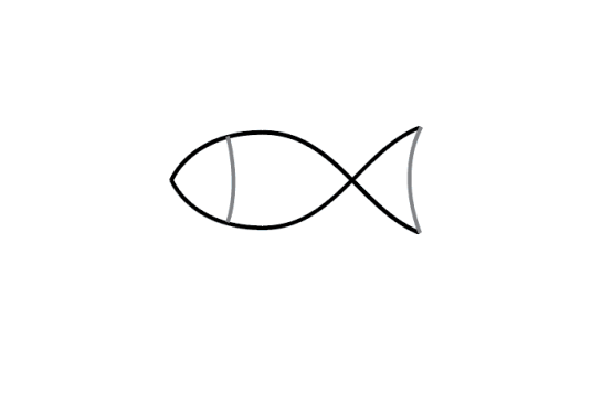 Handy how to draw a cartoon fish step by step #howtodrawafish
