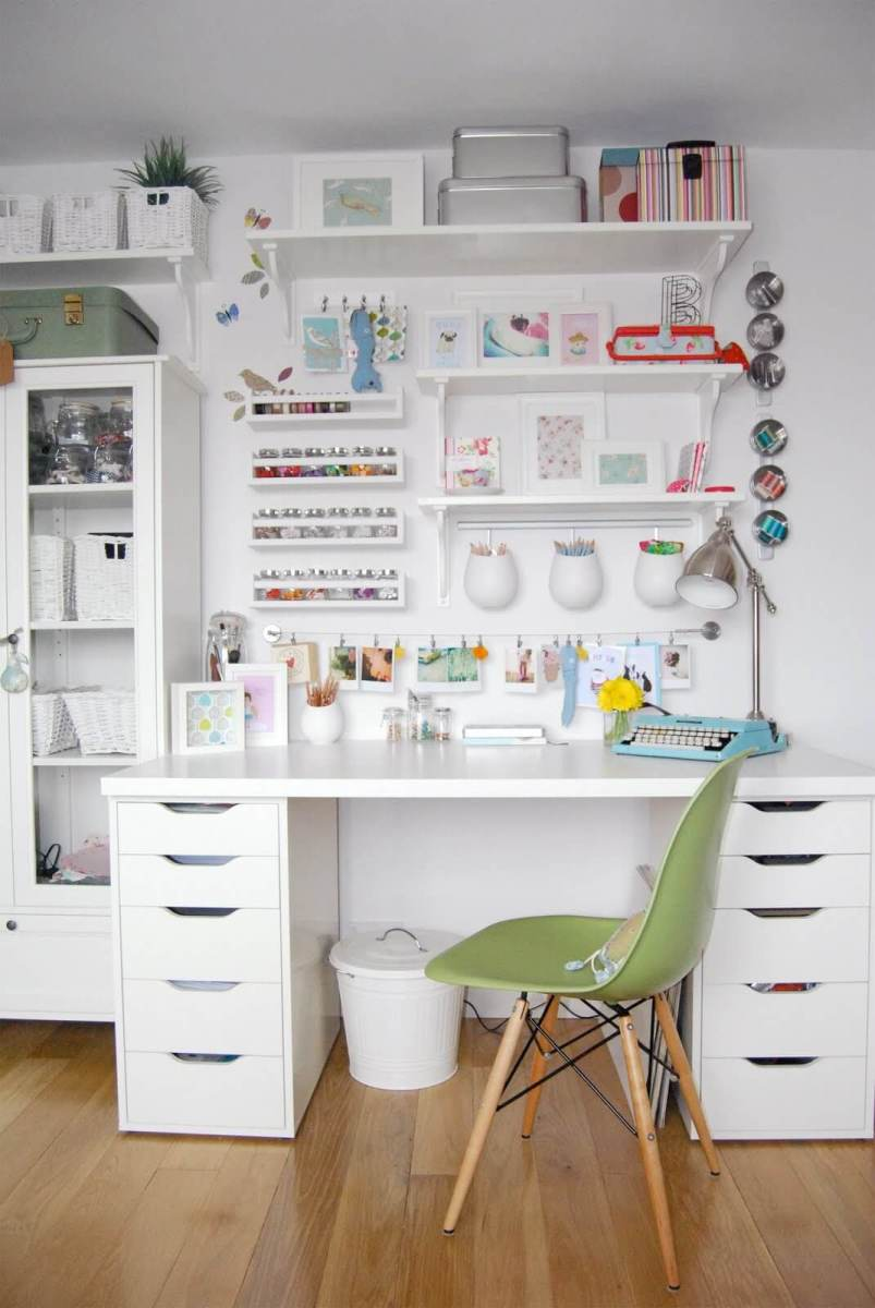 45 Brilliant Home Office Organization Ideas to Boost Your Productivity [+DIY]