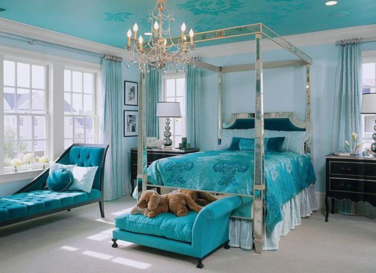 Uplifting pretty bedroom colors #bedroom #paint #color