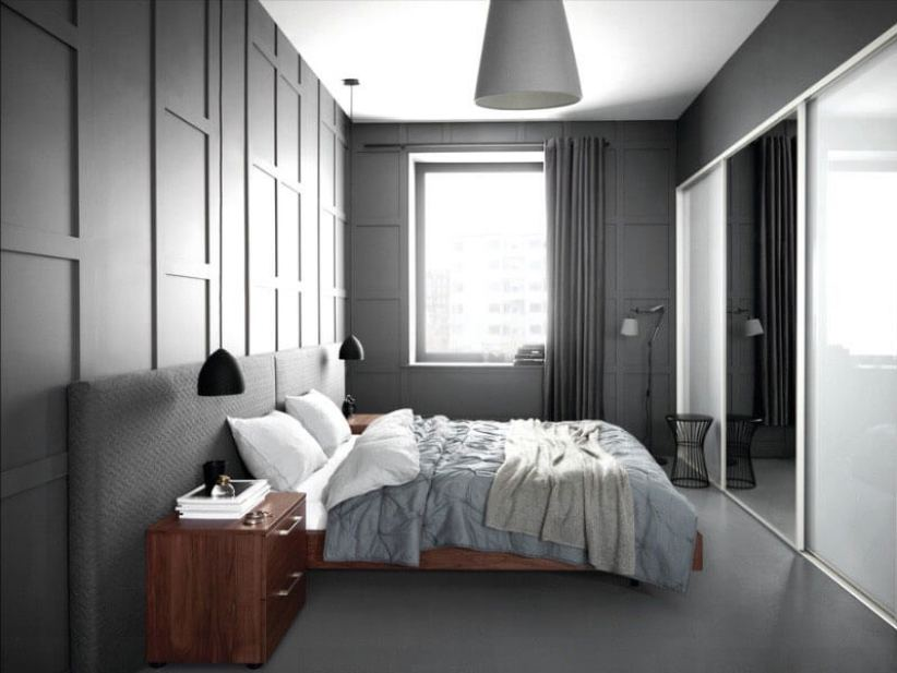 Breathtaking bedroom colour design #bedroom #paint #color