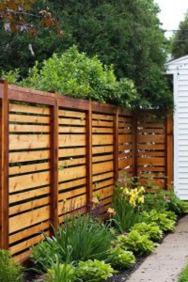 Unleash deck privacy screen #privacyfenceideas #gardenfence #woodenfenceideas