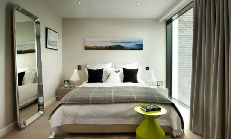 Unbeatable colour combination for bedroom #bedroom #paint #color