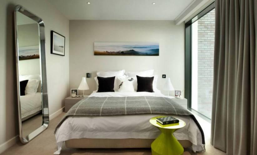 Unbeatable colour combination for bedroom #bedroom #paint #color