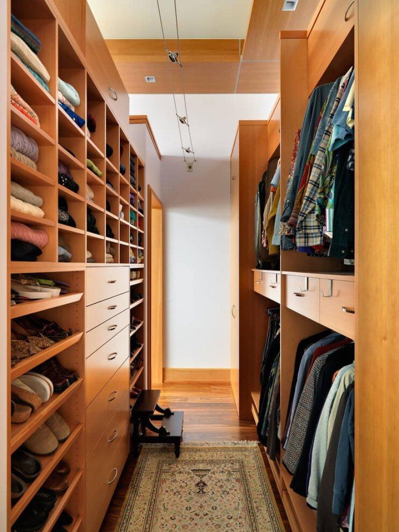 Sensational walk in closet shelving #walkinclosetdesign #closetorganization #bedroomcloset