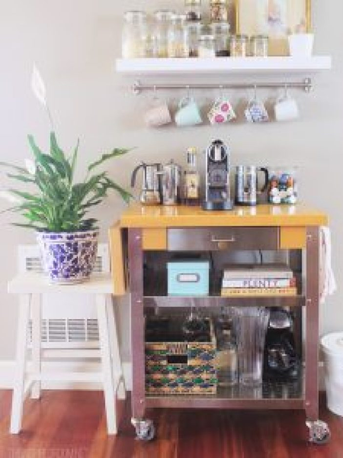 Glorious coffee station ideas for wedding #coffeestationideas #homecoffeestation #coffeebar