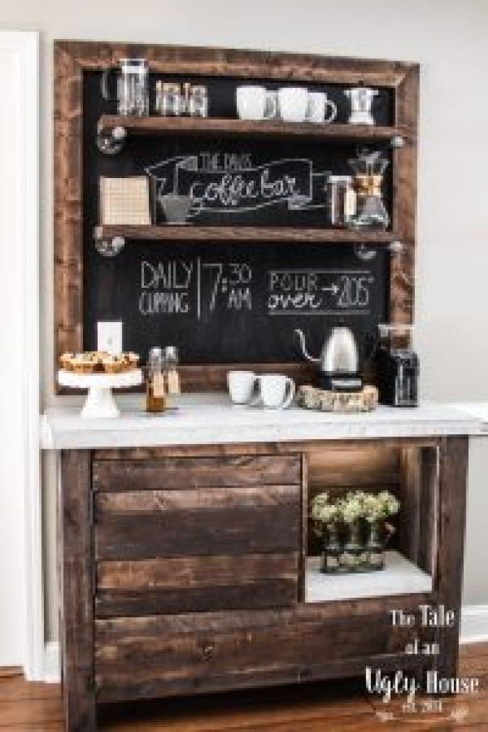 Remarkable home coffee bar #coffeestationideas #homecoffeestation #coffeebar