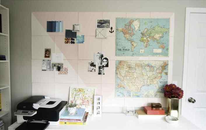 Amazing large bulletin board #corkboardideas #bulletinboardideas #walldecor