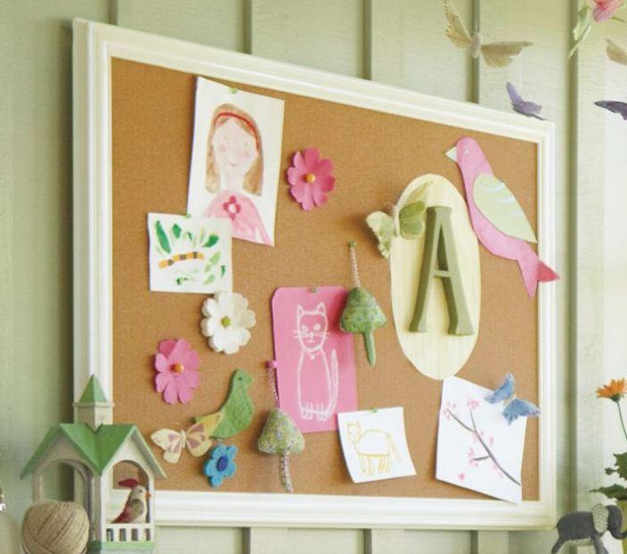 Delight cork board #corkboardideas #bulletinboardideas #walldecor