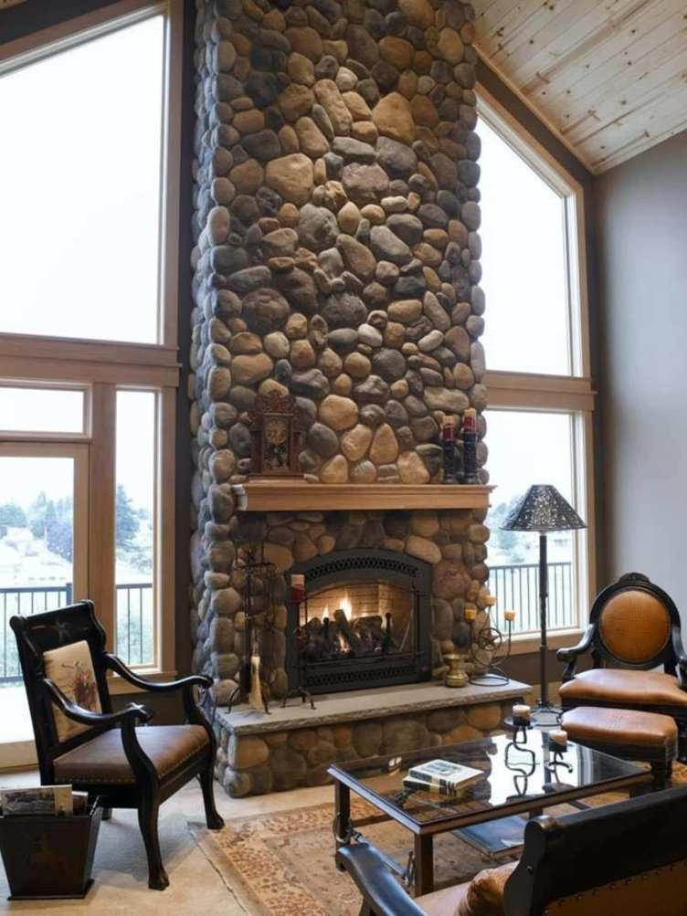 Extraordinary corner fireplace decorating ideas #cornerfireplaceideas #livingroomfireplace #cornerfireplace
