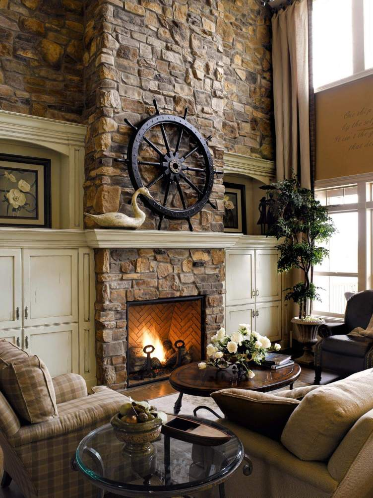 Astonishing corner fireplace entertainment center ideas #cornerfireplaceideas #livingroomfireplace #cornerfireplace
