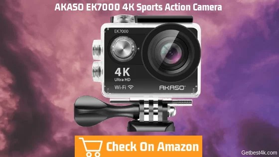 AKASO EK7000 4K Sports Action Camera