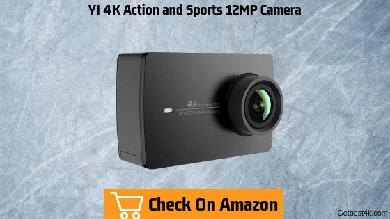 YI 4K Action and Sports 12MP Camera