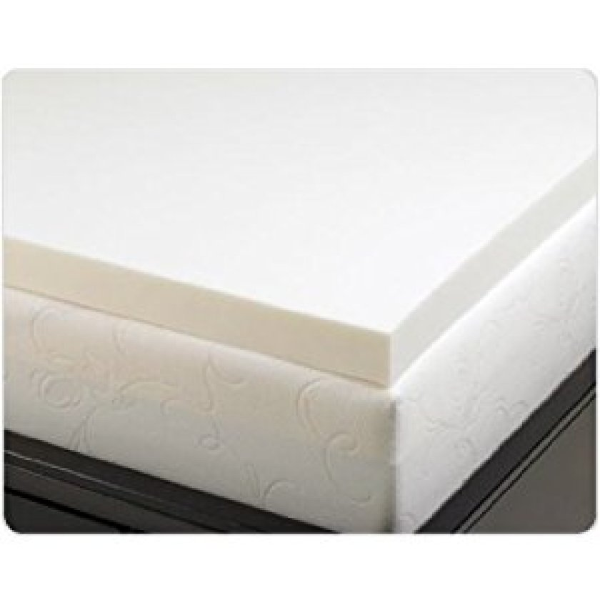4 Pound Density Visco Elastic Memory Foam Mattress Pad Bed Topper